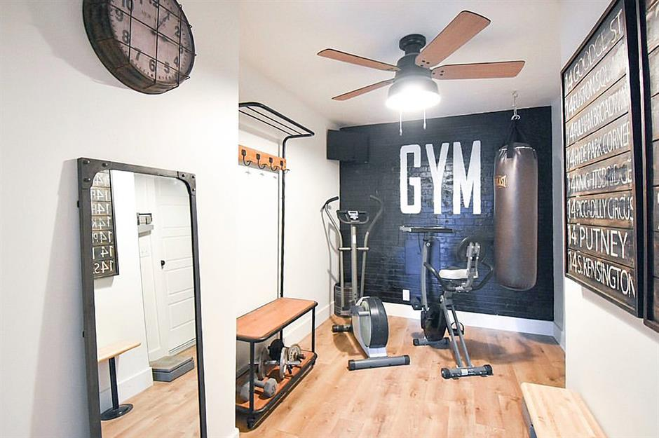Home Gym Area